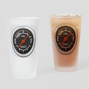 Gas Gauge Drinking Glass