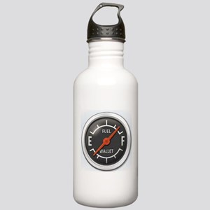 Gas Gauge Stainless Water Bottle 1.0L
