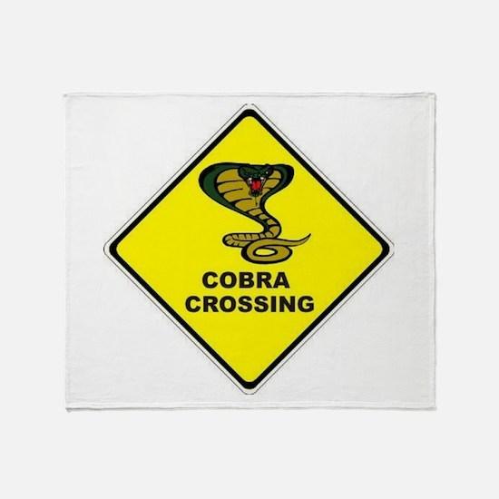 Cobra Crossing Throw Blanket