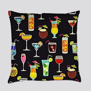 It's 5 O'Clock Somewhere Cocktails Everyday Pillow