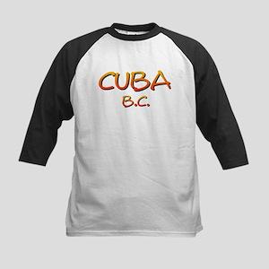Cuba BC-4black Baseball Jersey