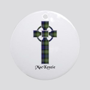 Cross-MacKenzie htg grn Round Ornament
