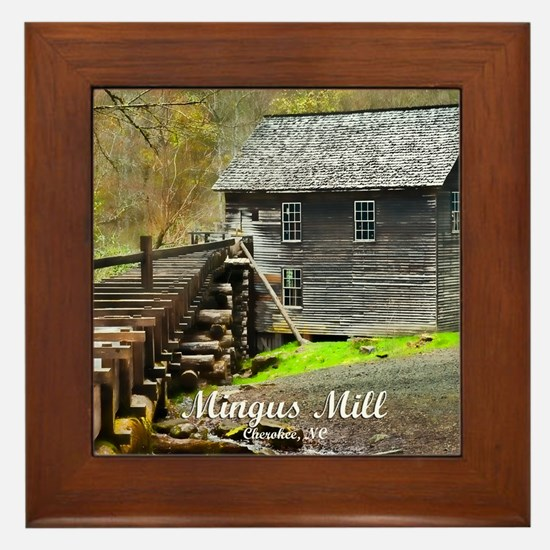 Smokies Mingus Mill Framed Tile