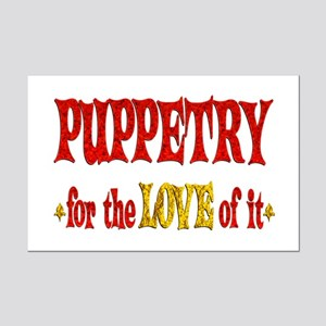 Puppetry Love Mini Poster Print