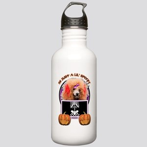 Just a Lil Spooky Poodle Stainless Water Bottle 1.