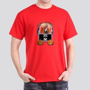 Just a Lil Spooky Poodle Dark T-Shirt
