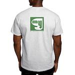 Light T-Shirt Back Print Only