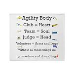 Agility Body Throw Blanket