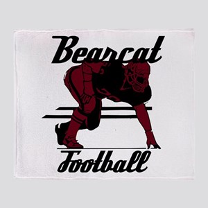 BEARCAT FOOTBALL (5) Throw Blanket