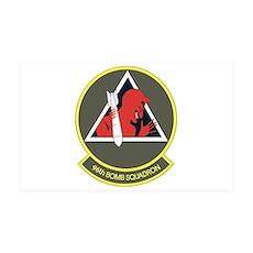 96th Bomb Squadron 38.5 x 24.5 Wall Peel
