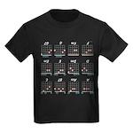 Guitar Hero Cheat Shirt Kids Dark T-Shirt