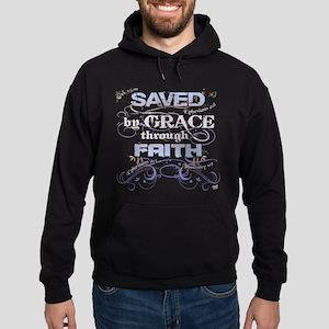Saved by Grace Hoodie (dark)