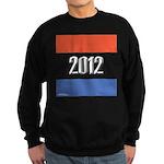 2012 Election RWB Sweatshirt (dark)