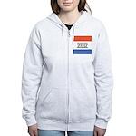 2012 Election RWB Women's Zip Hoodie