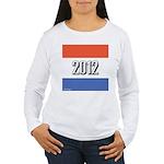 2012 Election RWB Women's Long Sleeve T-Shirt