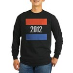 2012 Election RWB Long Sleeve Dark T-Shirt
