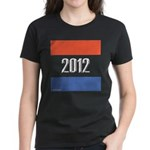 2012 Election RWB Women's Dark T-Shirt