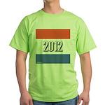 2012 Election RWB Green T-Shirt