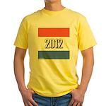 2012 Election RWB Yellow T-Shirt