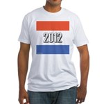 2012 Election RWB Fitted T-Shirt