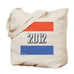 2012 Election RWB Tote Bag