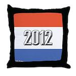 2012 Election RWB Throw Pillow