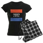 2012 Election RWB Women's Dark Pajamas