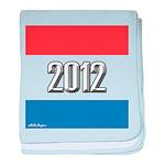 2012 Election RWB baby blanket