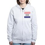 Presidential 2012 stars Women's Zip Hoodie