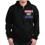 Presidential 2012 stars Zip Hoodie (dark)