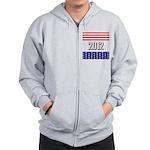 Presidential 2012 stars Zip Hoodie