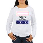 Presidential 2012 stars Women's Long Sleeve T-Shir