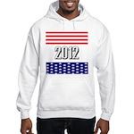 Presidential 2012 stars Hooded Sweatshirt