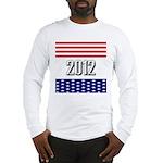 Presidential 2012 stars Long Sleeve T-Shirt