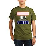 Presidential 2012 stars Organic Men's T-Shirt (dar