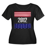 Presidential 2012 stars Women's Plus Size Scoop Ne