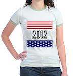 Presidential 2012 stars Jr. Ringer T-Shirt