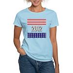 Presidential 2012 stars Women's Light T-Shirt