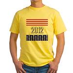 Presidential 2012 stars Yellow T-Shirt