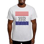 Presidential 2012 stars Light T-Shirt