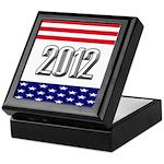 Presidential 2012 stars Keepsake Box