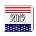 Presidential 2012 stars Mousepad