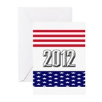 Presidential 2012 stars Greeting Cards (Pk of 20)