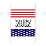 Presidential 2012 stars Mini Poster Print