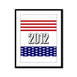 Presidential 2012 stars Framed Panel Print