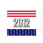 Presidential 2012 stars Postcards (Package of 8)