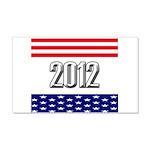 Presidential 2012 stars 22x14 Wall Peel