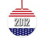 Presidential 2012 stars Ornament (Round)