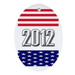 Presidential 2012 stars Ornament (Oval)