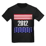 Presidential 2012 stars Kids Dark T-Shirt